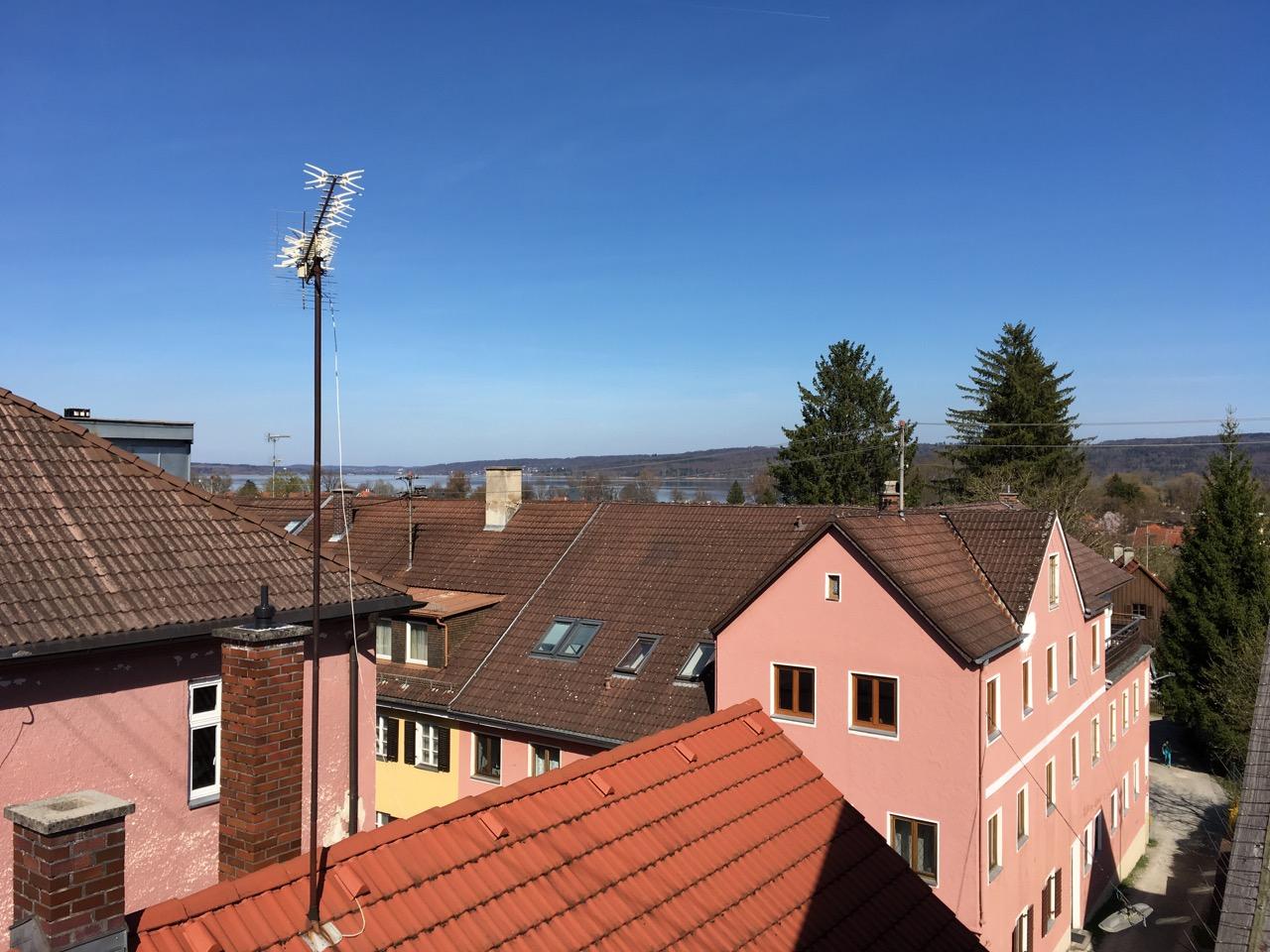 Über den Dächern von Dießen